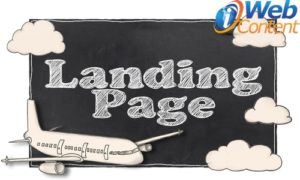 Does your marketing plan include landing pages?