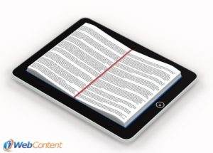 Reach your target audience with eBook marketing.