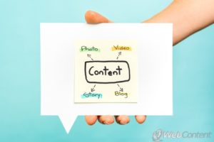 Improve your blog with the help of content writers.