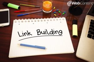 Content for websites should use proper link building techniques.