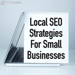Small businesses can get more traffic with local SEO.