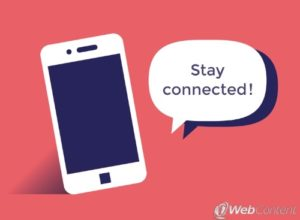 Connect to your customers with the help of social media.