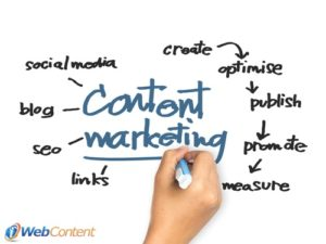 Hire content writers to help with your marketing.
