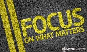 Focus on what matters with web content writers.