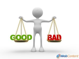 Make your bad reviews work for you with the help of web content writers.