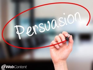Learn how to use persuasive web content to your advantage.