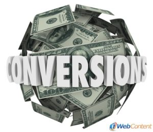 Drive your sales with website conversions.