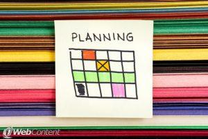 Plan ahead to increase your social media presence.