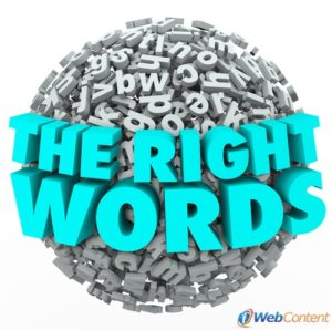 Find the right words with the help of professional content writing services.
