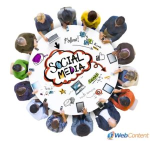 Social media posts can be written by content writing services.
