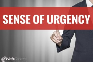 Learn about creating urgency in your calls-to-action.