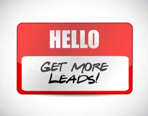 Lead Generation - Personal Touch